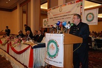 Deputy Secretary General gives a speech at the Kashmir Conference