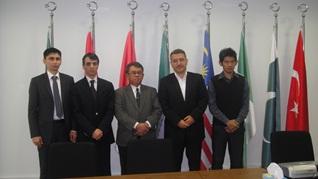 UNIW Delegation at D-8