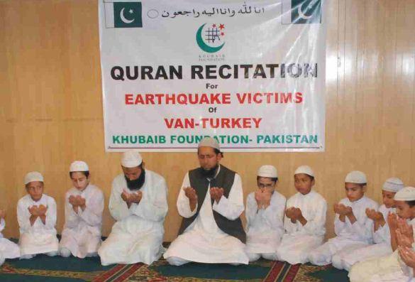 Prayers and Fatiha for Turkey Earthquake Victims