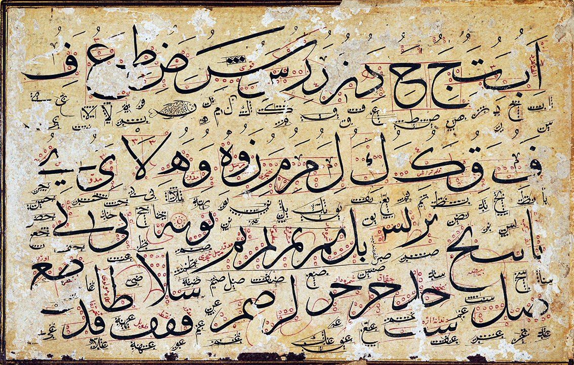 Scribble  (Karalama) in Islamic Calligraphy